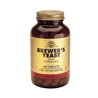 Brewer's Yeast with Vitamin B12 500mg 250 tab, Solgar