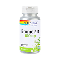 Bromelain 500mg 30 cps, Solaray