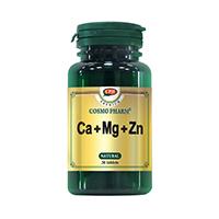 Ca + Mg + Zn 30 cps