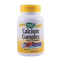 Calcium Complex Bone Formula 100 cps, Nature's Way