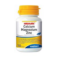 Calcium - Magnezium - Zinc 100 tbl, Walmark