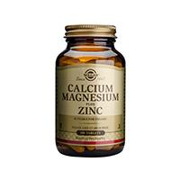 Calcium Magnesium + Zinc 100 tb, Solgar