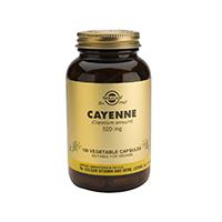 Cayenne 520mg 100 cps, Solgar