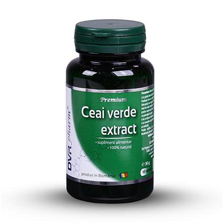 Ceai verde extract 60 cps, DVR Pharm
