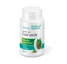 Ceai Verde Extract 30 cps, Rotta Natura