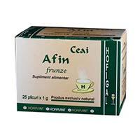 Ceai de Afin frunze 25 doze, Hofigal