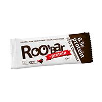 Baton proteic chia si ciocolata raw bio 30 g, Roobar