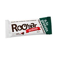 Baton proteic cu chia si spirulina raw bio 30 g, Roobar