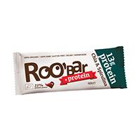 Baton proteic cu chia si spirulina raw bio 60 g, Roobar