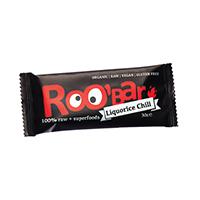 Baton raw bio cu chilli si lemn dulce 30 g, Roobar