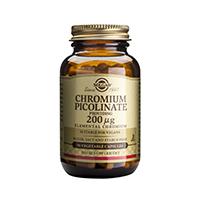 Chromium Picolinate 200ug 90 cps, Solgar
