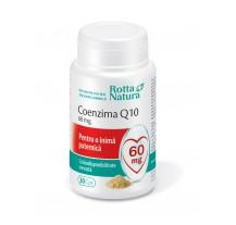 Coenzima Q10 60 mg 30 cps, Rotta Natura