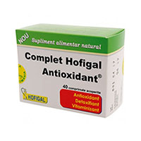 Complet Antioxidant 40 cpr, Hofigal