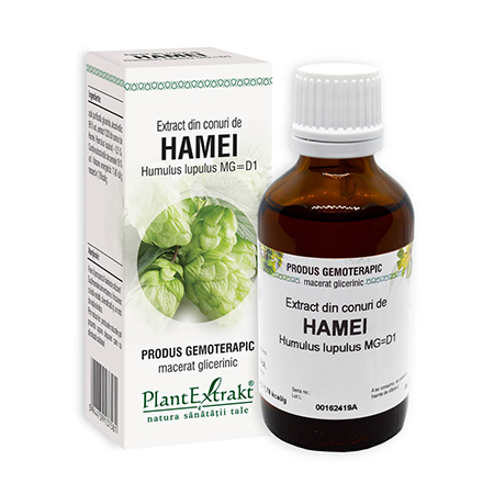 Extract din conuri de Hamei 50ml, Plantextrakt