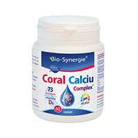 Coral Calciu 60 cps, Bio Synergie
