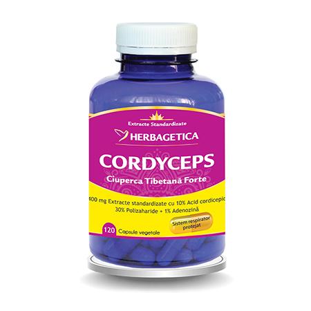 Cordyceps 10/30/1 120 cps, Herbagetica