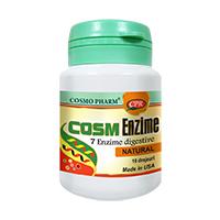 Cosm Enzime 10 drajeuri, Cosmo Pharm