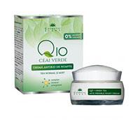 Crema antirid de noapte Q10 + ceai verde si complex mineral energizant 50 ml