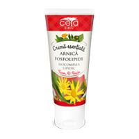 Crema esentiala cu extract de arnica si fosfolipide 50ml, Ceta