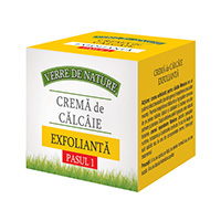 Crema calcaie exfolianta 100 ml