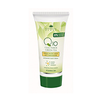 Crema maini anti-imbatranire Q10 + ceai verde si complex mineral energizant 100 ml