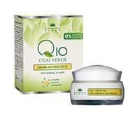Crema antirid de zi Q10 + ceai verde si complex mineral energizant 50 ml