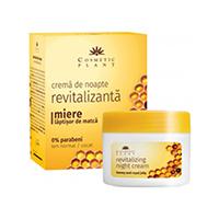Crema de noapte revitalizanta cu miere si laptisor de matca 50 ml