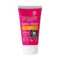 Crema bio pentru maini super-hidratanta cu Trandafir 75 ml, Urtekram