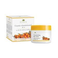 Crema vitaminizanta de zi cu ulei de catina si masline 50 ml