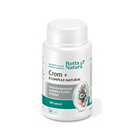 Crom + B Complex Natural 30 cps, Rotta Natura