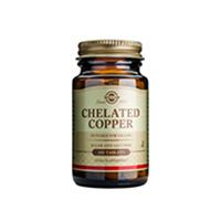 Cupru chelat (Chelated Copper) 2,5mg 100 tbl, Solgar
