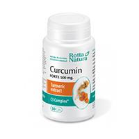 Curcumin Forte 500mg 30cps, Rotta Natura