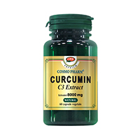 Curcumin C3 Extract 400mg echiv. 8000mg 60cps, Cosmo Pharm