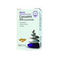 Curcumin 95% curcuminoide 60 cps, Alevia