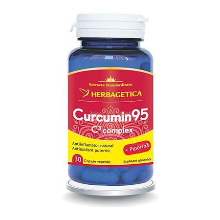 Curcumin 95 C3 Complex 30 cps, herbagetica