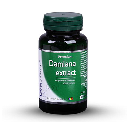 Damiana Extract 60 cps, DVR Pharm