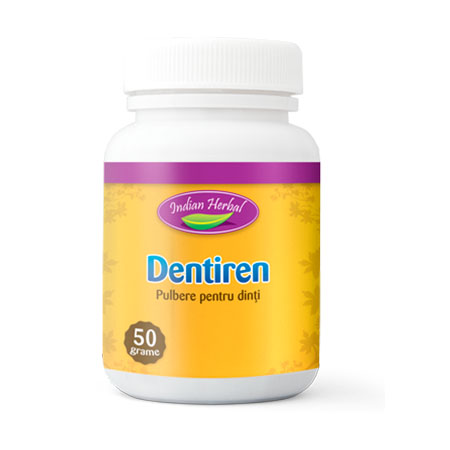Pulbere dinti Dentiren 50 g, Indian Herbal