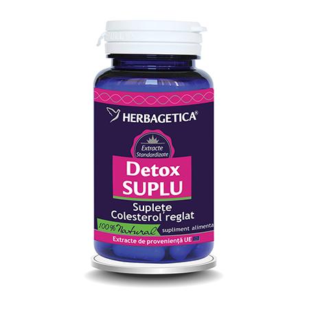 Detox Suplu 30 cps, Herbagetica