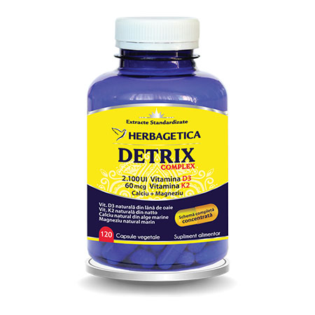 Detrix Complex 120cps, Herbagetica