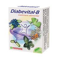 Diabevital B 30 cps, Parapharm