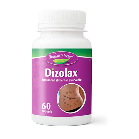 Dizolax 60 cps, Indian Herbal