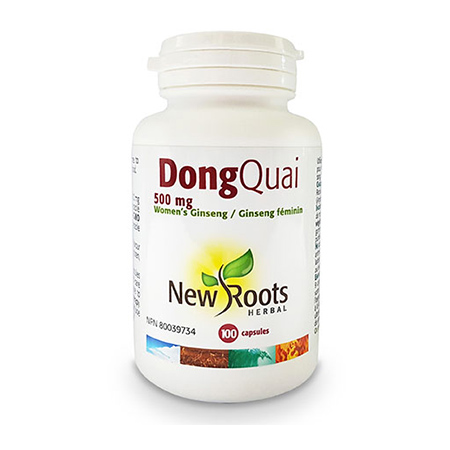 Dong Quai Forte (Angelica Sinensis) 500 mg 100 cps, New Roots