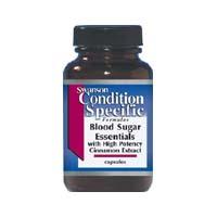 Esentiale pentru Nivelul Glicemiei cu Extract de Scortisoara 90 Capsule