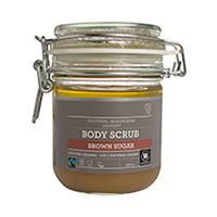 Exfoliant de corp bio cu zahar brun 380 ml, Urtekram