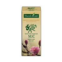 Extract din muguri de nuc 50ml Plantextrakt
