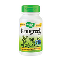 Fenugreek (Schinduf) 100 cps, Nature's Way