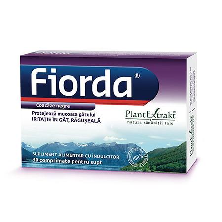 Fiorda - aroma de coacaze negre 30 cpr, Plantextrakt