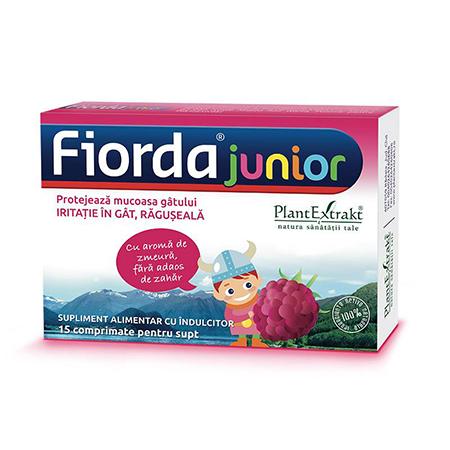 Fiorda - aroma de zmeura 30 cpr, Plantextrakt