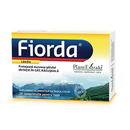 Fiorda - aroma de lamaie 30 cpr, Plantextrakt