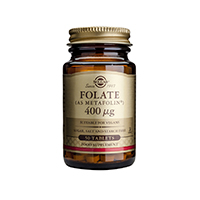 Folate (as Metafolin) 400mcg 50 tbl, Solgar